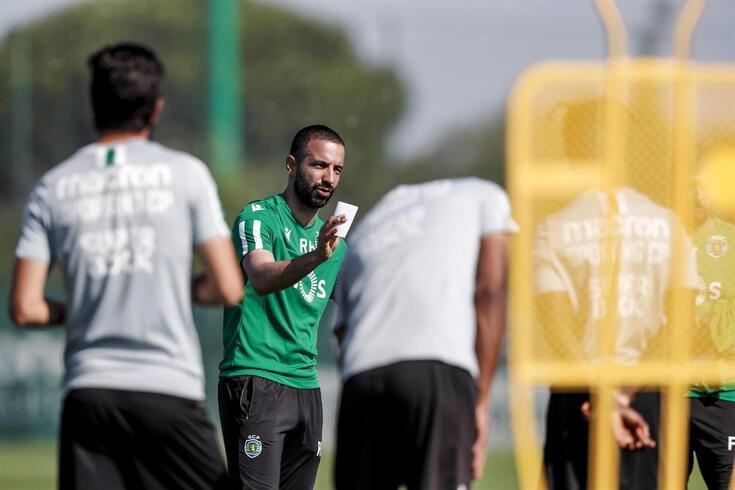 Rúben Amorim vai afinando a máquina do Sporting