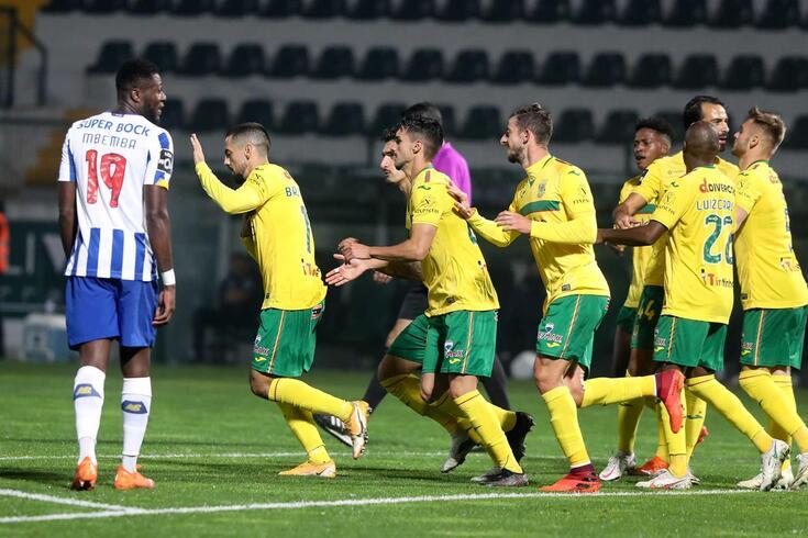 Paços de Ferreira surpreendeu e venceu o FC Porto