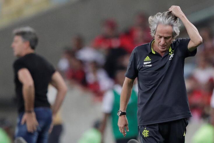 Jesus está encantado com o Flamengo