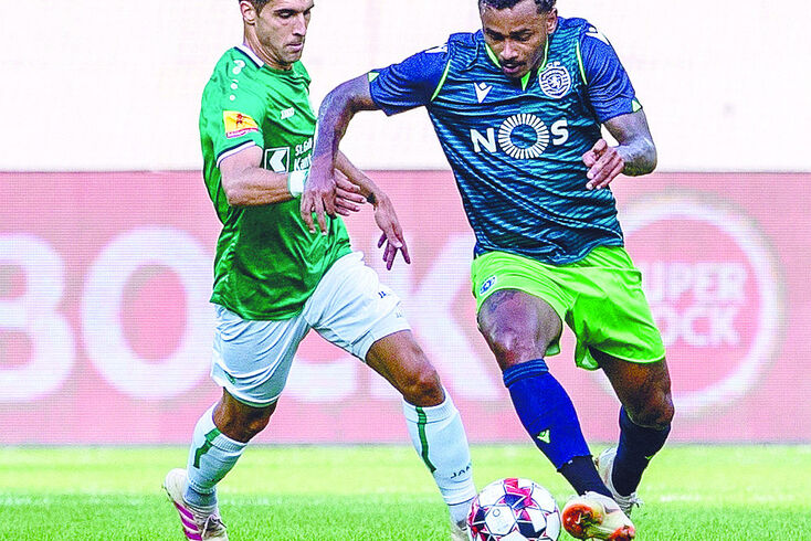 Wendel marcou um golaço frente ao St. Gallen