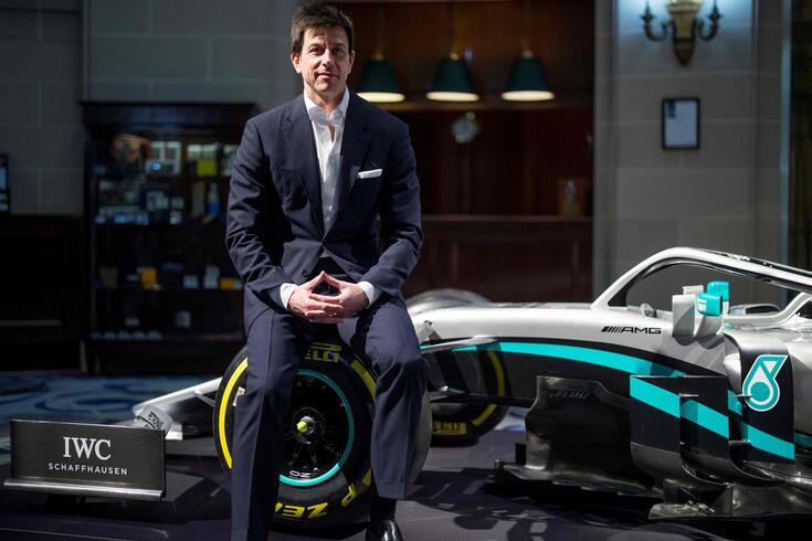 Toto Wolff, CEO da equipa Mercedes AMG