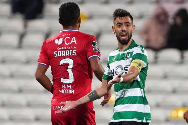 Bruno Fernandes critica desempenho da equipa