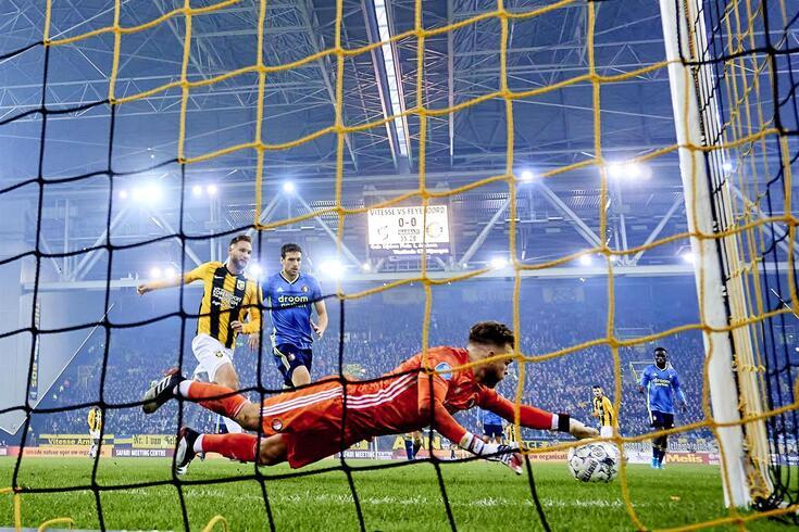 Nick Marsman no jogo de domingo frente ao Vitesse