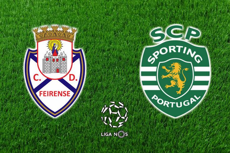 DIRETO | Feirense-Sporting