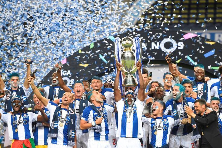 Dados que revelam o dedo da formação no título do FC Porto