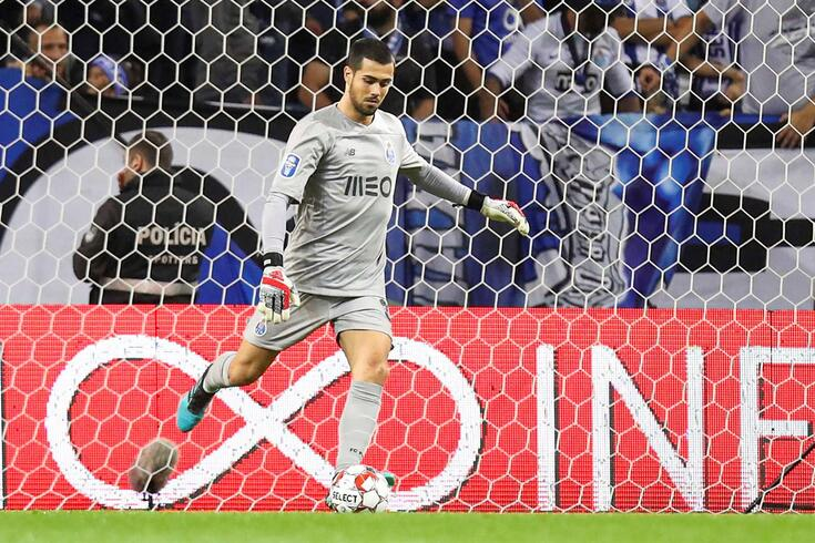 Diogo Costa, guarda-redes do FC Porto.