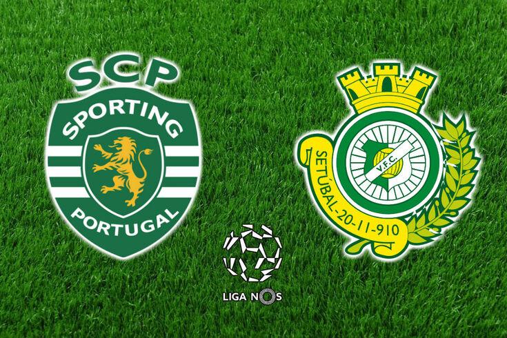 DIRETO | Sporting-V. Setúbal
