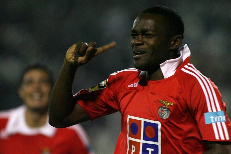 Mantorras era um ídolo para os adeptos do Benfica