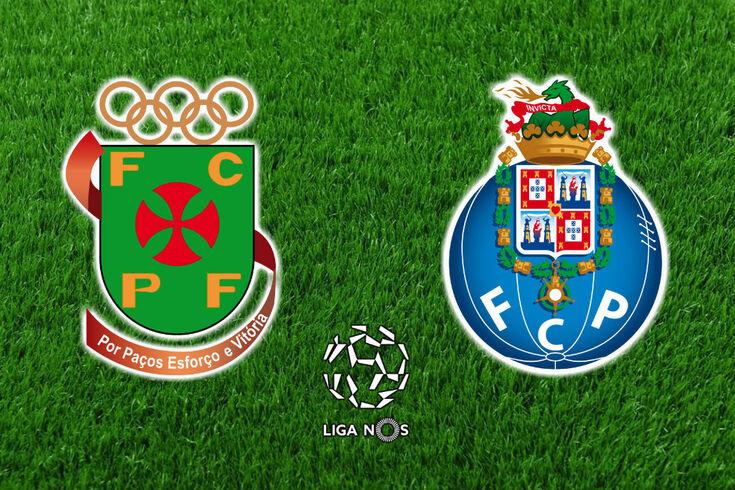 DIRETO | Paços de Ferreira-FC Porto