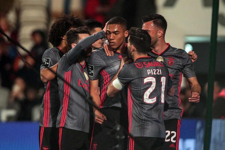 Barcelos, 24/02/2020 - O Gil Vicente Futebol Clube recebeu, esta noite, o Sport Lisboa e Benfica no Estádio