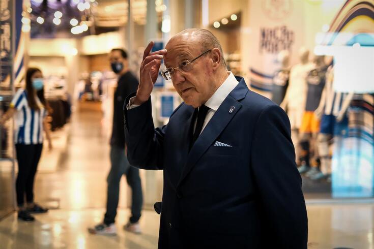 Pinto da Costa, presidente do FC Porto