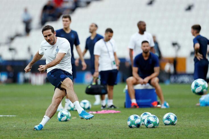 Frank Lampard, treinador do Chelsea