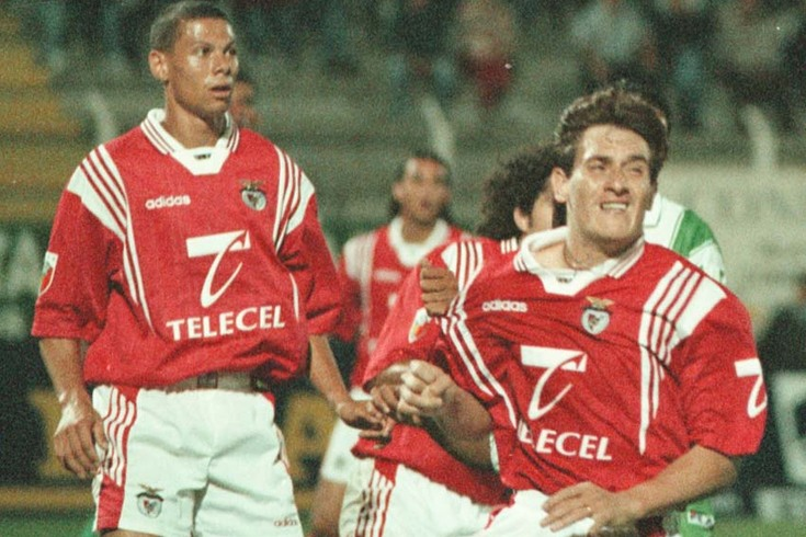 Gamara com a camisola do Benfica