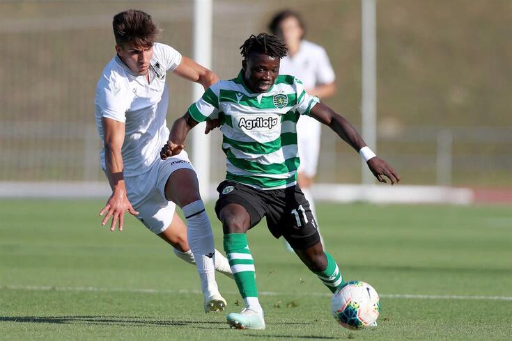 """Joelson foi """"promovido"""" por Rúben Amorim à equipa principal do Sporting"""