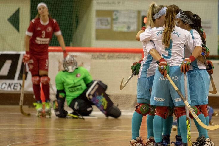 Europeu feminino: Portugal marca oito antes da decisão com a Espanha