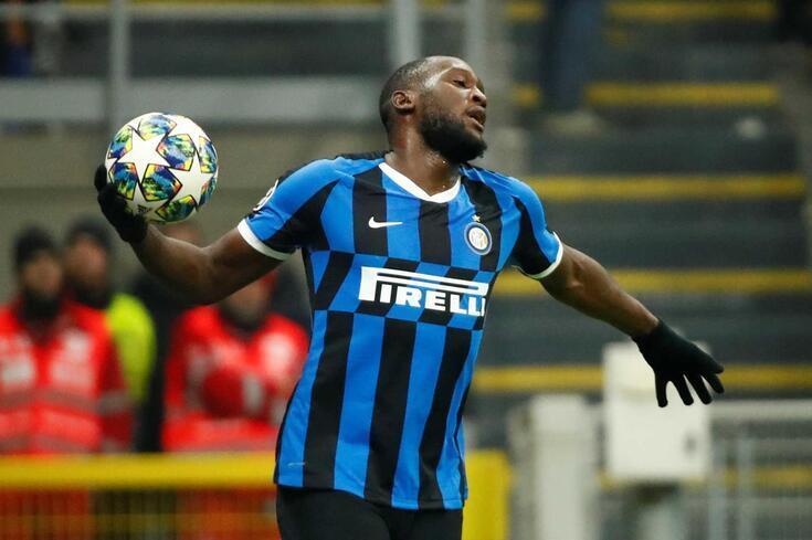 Romelu Lukaku, avançado do Inter de Milão