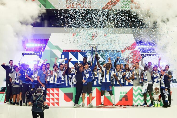 FC Porto conquistou a dobradinha