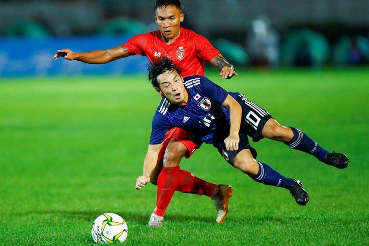 Nakajima na seleção do Japão