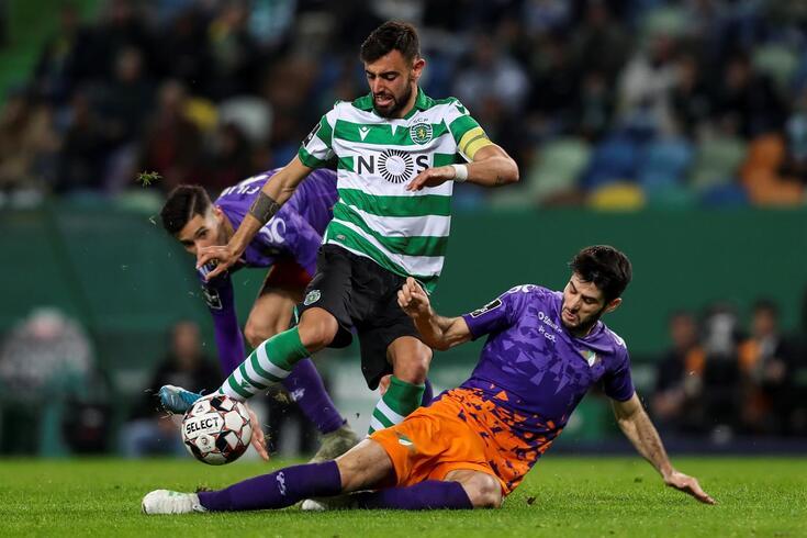 Bruno Fernandes lidera especialidade que o Sporting aproveita