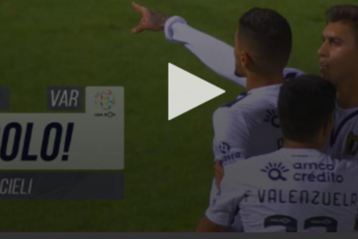 Riccieli marcou o primeiro golo do Famalicão