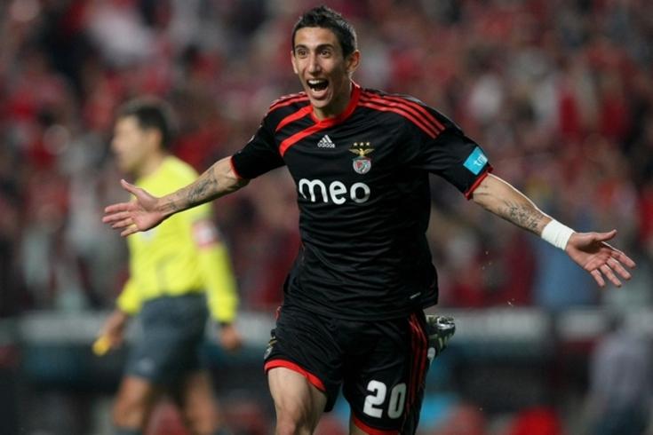 Garantem que Di María está na agenda do Benfica