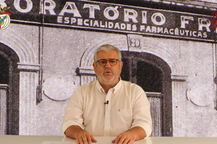 Francisco Benitez na corrida à presidência do Benfica