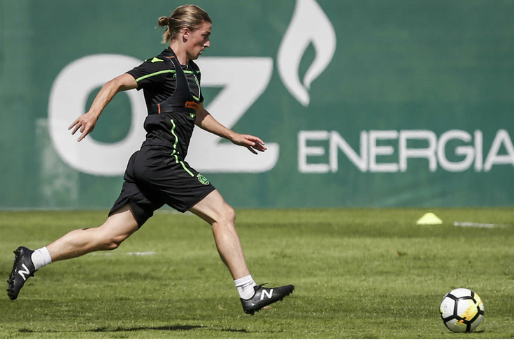Ryan Gauld, médio do Sporting