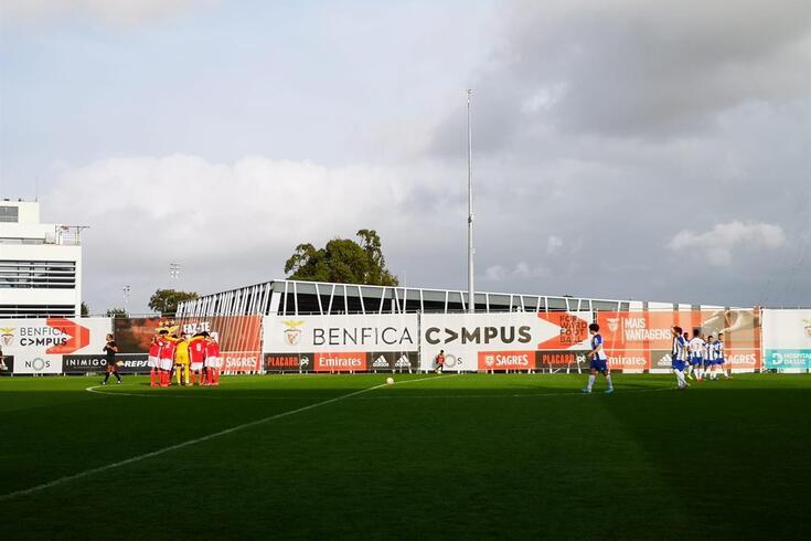 DIRETO | Juniores: Benfica-FC Porto