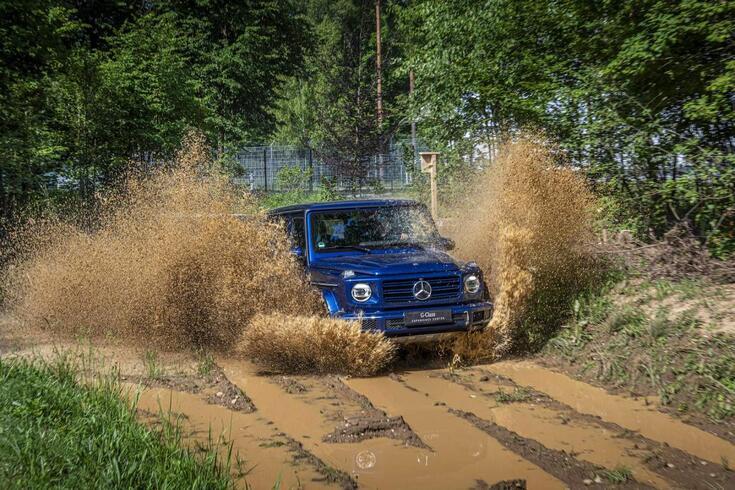 Mercedes-Benz Classe G: 40 anos de paixão pela lama, pó e pedregulhos