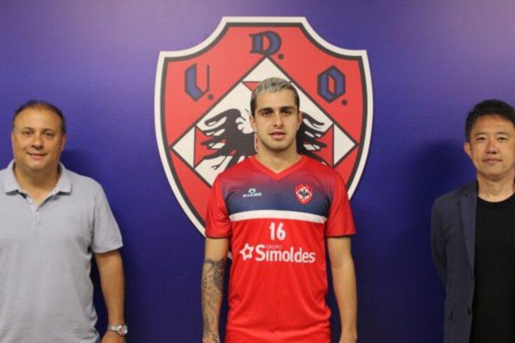 Pedro Bortoluzo com nova camisola