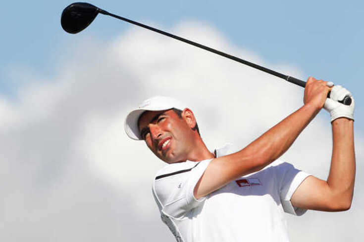 Loulé, 11/10/2012 - Portugal Masters 2012, realiza-se Oceânico Victoria Golf Course, em Vilamoura Tiago