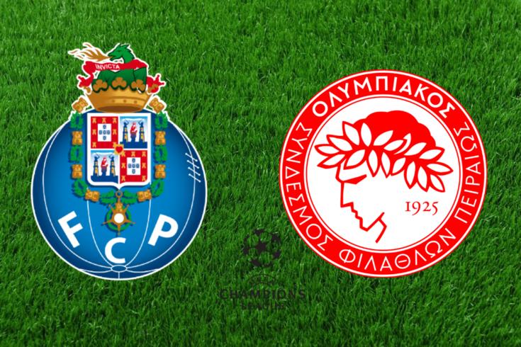 DIRETO | FC Porto-Olympiacos