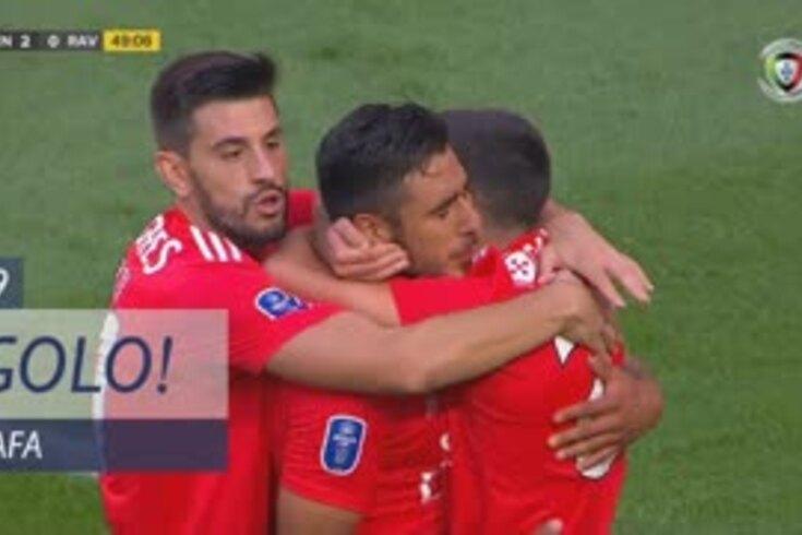 Benfica-Rio Ave: Rafa ampliou vantagem e já leva dois jogos a marcar