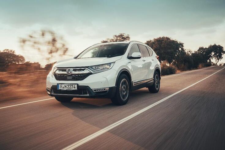 Honda CR-V elétrico… a gasolina