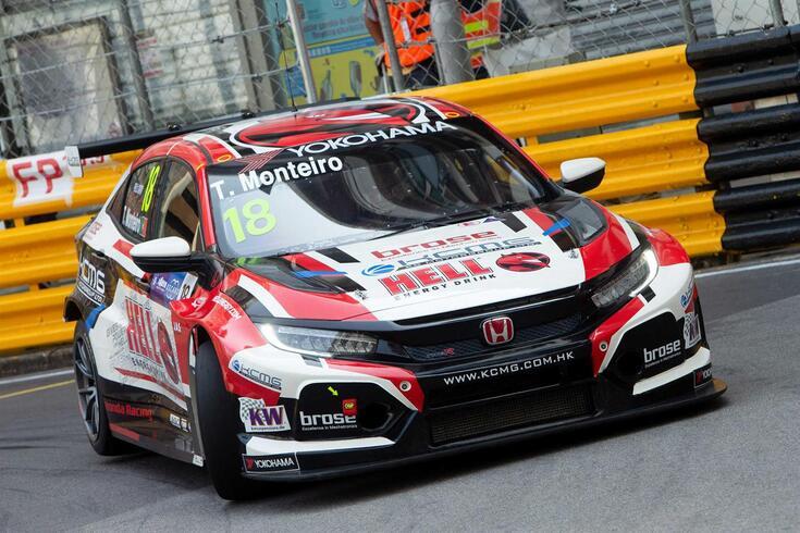 Tiago Monteiro terminou a primeira corrida do GP de Macau no 15.º posto