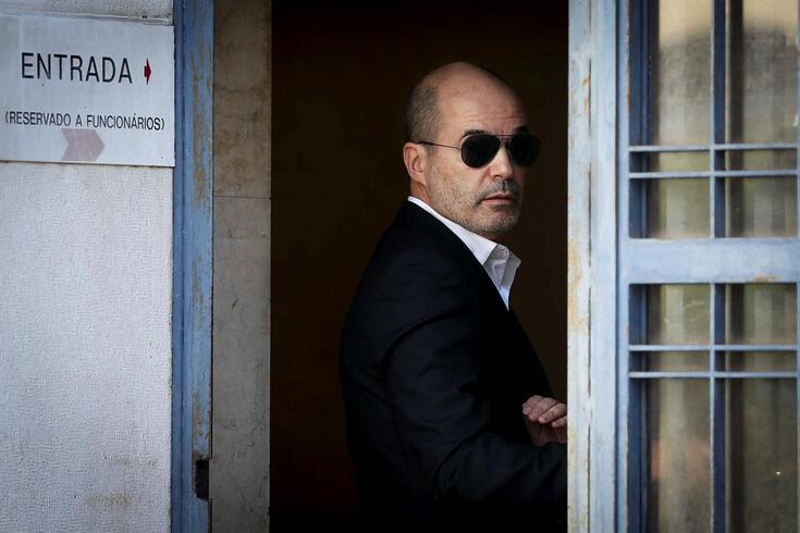 Júlio Loureiro à chegada ao Tribunal no âmbito do processo E-Toupeira