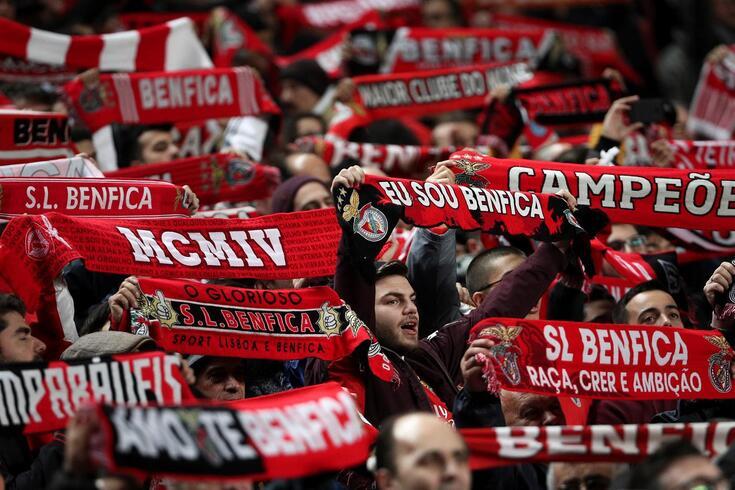 Benfica recebe o Braga na jornada 21 do campeonato