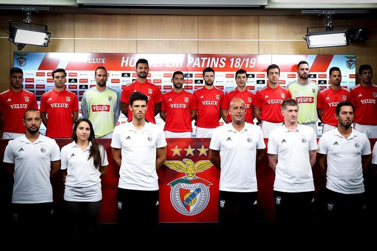 """Benfica apresenta-se a pensar no título: """"Tem de haver humildade, trabalho e grande compromisso"""""""