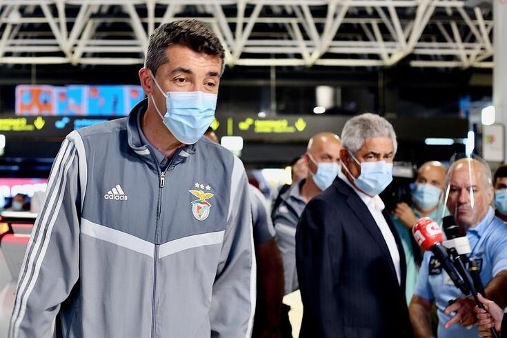 Vieira esteve sempre perto de Bruno Lage