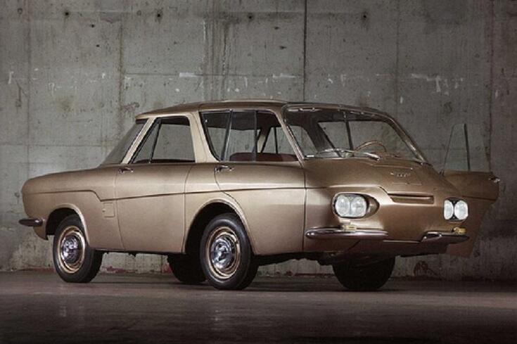 Renault 900: O estranho concept em que a frente estava na traseira