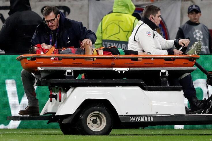 Ferro causou um enorme susto na primeira parte do jogo com o Lyon