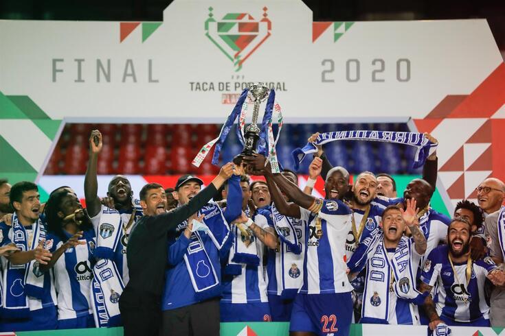 O FC Porto conquistou pela 17.ª vez a Taça de Portugal