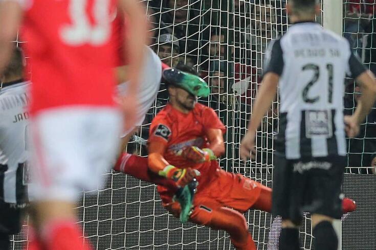 O Portimonense venceu o Benfica na primeira volta