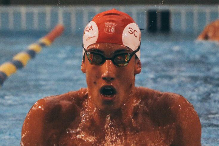 José Lopes, nadador do Braga