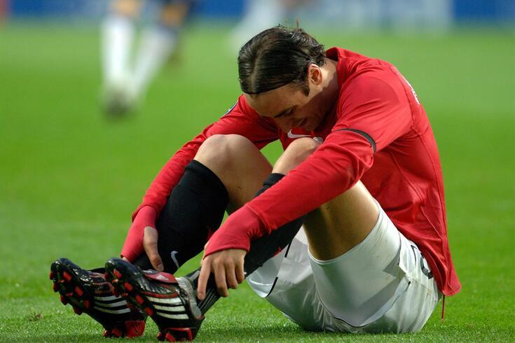 Berbatov brilhou, por exemplo, no Manchester United