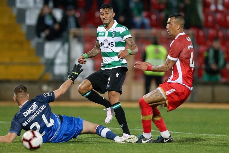 Sporting venceu na Vila das Aves