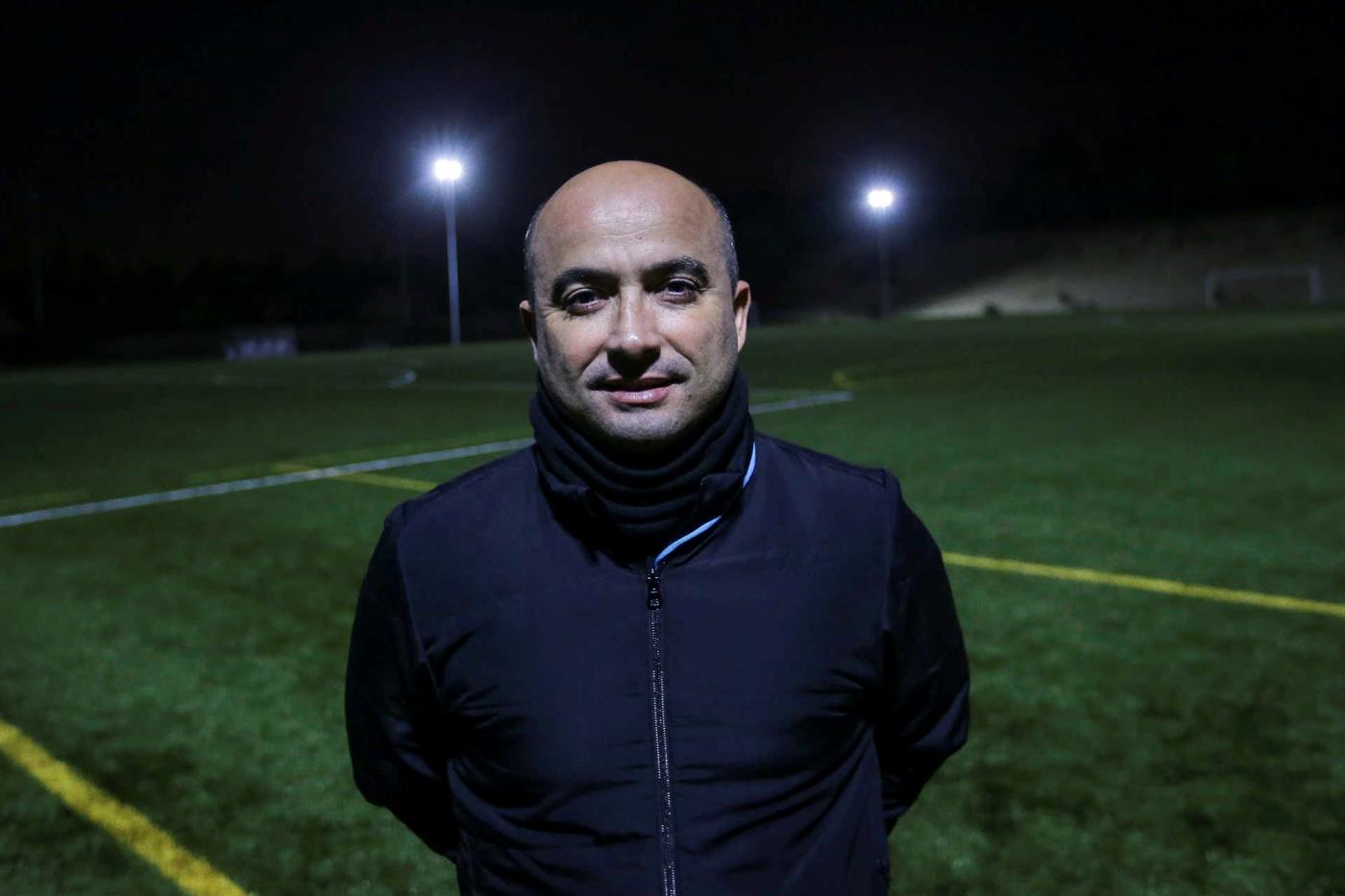 Sérgio Barreto, treinador da Ovarense.