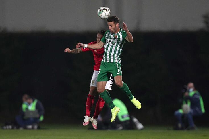 Ivo Pinto no Rio Ave-Benfica