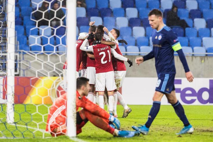 Braga fez uma fase de grupos notável na Liga Europa