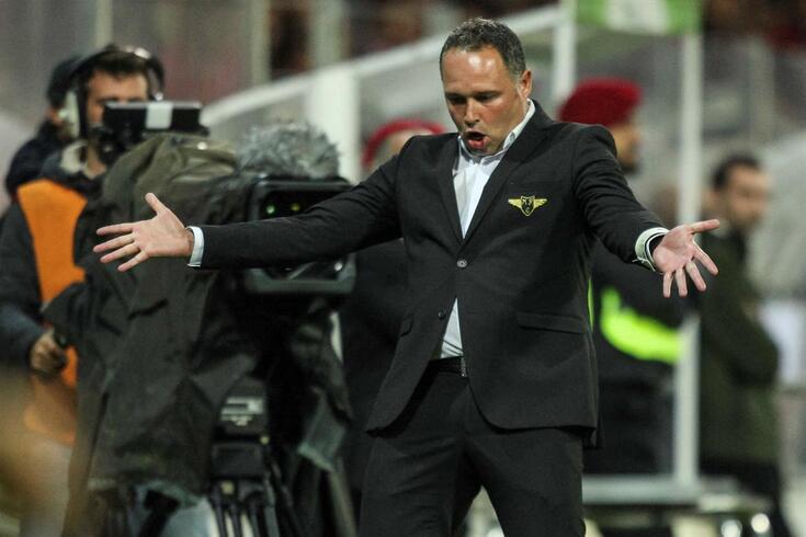 Vítor Campelos, treinador do Moreirense
